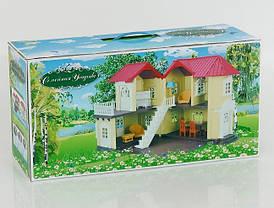 Игровой домик с флоксовыми животными 0560 Семейная усадьба (аналог Sylvanian Families), фото 3