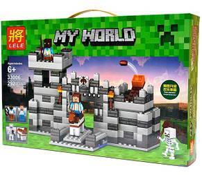 Конструктор Lele серия My World 33006 Неприступная крепость (аналог Lego Майнкрафт, Minecraft), фото 2