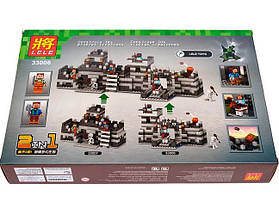 Конструктор Lele серия My World 33006 Неприступная крепость (аналог Lego Майнкрафт, Minecraft), фото 3