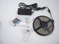 Светодиодная лента rgb smd5050 60 диодов, комплект