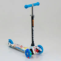 Детский трехколесный самокат Scooter Mini Print 1291