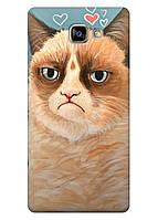 Чехол Samsung A710 (a7-2016) - Кот без вискаса