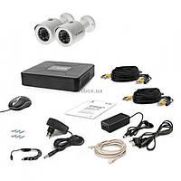 Комплект видеонаблюдения Tecsar AHD 2OUT + HDD 1TB (6755)