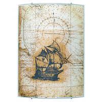 1332 Светильник MARINA*3 бра стекло Корабль