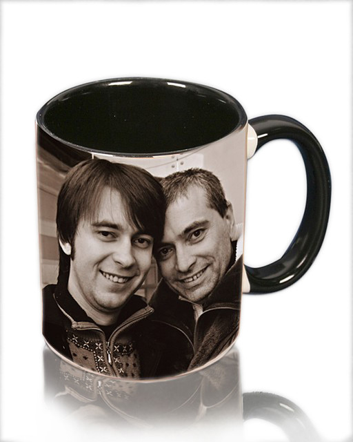 Фото на чашке с Вашей фотографией