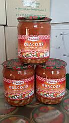 Фасоль в томатном соусе 480 гр