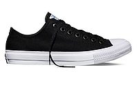 Женские кеды Converse Chuck Taylor All Star II Low (black/white) - 23W
