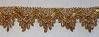 Тесьма декоративная люрекс золото  6107, фото 1