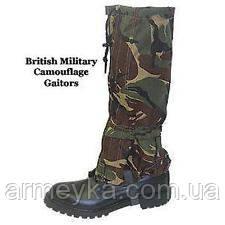 Защитные гетры в расцветке DPM. Британские ВС, оригинал., фото 1