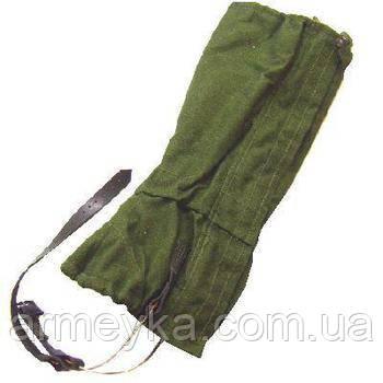 Защитные гетры в расцветке olive. Британские ВС, оригинал.