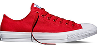Женские кеды Converse Chuck Taylor All Star II Low (red) - 22W