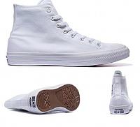 Женские кеды Converse Chuck Taylor All Star II High (white) - 21w