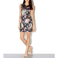 Цветочное платье со вставками из сетки Cameo Rose от New look