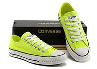Женские кеды Converse Chuck Taylor All Star Low (light green) - 34W