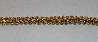 Тесьма декоративная люрекс золото  6109