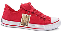 Женские кеды Converse Chuck Taylor All Star Low (red) - 48W