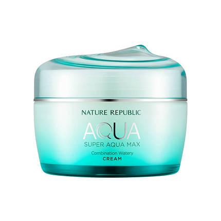 Крем для комбинированной кожи Nature Republic SUPER AQUA max combination watery cream, 80 мл, фото 2