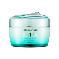 Крем для комбинированной кожи Nature Republic SUPER AQUA max combination watery cream, 80 мл