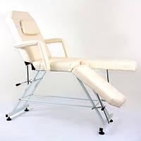 Кресло педикюрное-визажное RONDO 5 сложений БЕЛОЕ