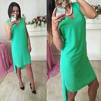 Популярное платьев со шлейфом  из креп - шифона