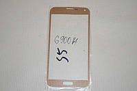 Стекло дисплея (экрана) для Samsung Galaxy S5 G900A G900F G900H G900M G901F G903F G906K G9006V G9008V золотой