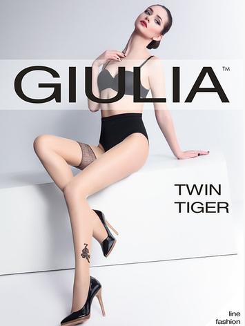 Колготки ( имитация чулка ) TWIN TIGER, фото 2