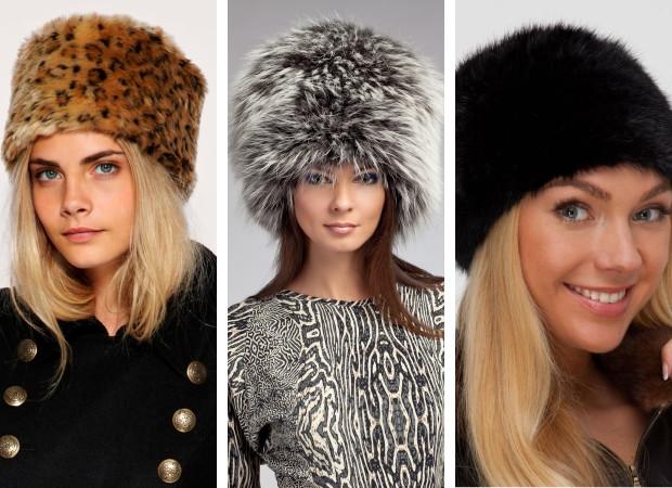 Натуральные меховые женские шапки