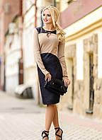 Женское весеннее платье