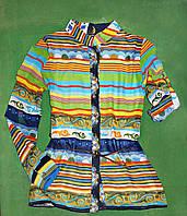 Рубашка туника трансформер для девочки Diren Kids