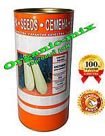 Семена кабачка Кавилья F1 Кустовой, инкрустированные, 500 г банка (более 3000 семян)