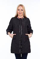 Женская демисезонная куртка.Китай.Wear 501 Черный