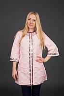 Женская демисезонная куртка.Китай.Wear 501 Розовый