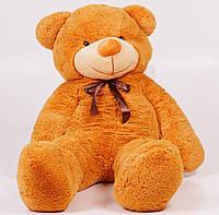 Плюшевый медведь Тедди 140 см Карамельный