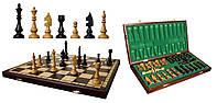 Шахматы «Клубные» из дерева (44 см, Польша)