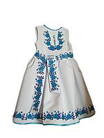 """Вишите плаття для дівчинки """"Мартсі"""" (Вышитое платье для девочки """"Мартси"""") DT-0012"""
