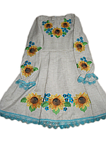 "Вишите плаття для дівчинки ""Марлат"" (Вышитое платье для девочки ""Марлат"") DT-0011"