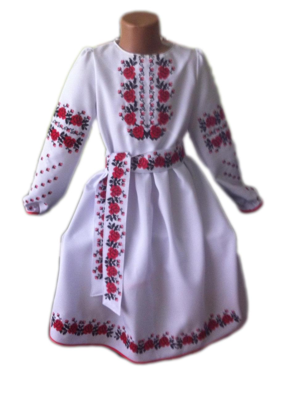 """Вишите плаття для дівчинки """"Марджрі"""" (Вышитое платье для девочки """"Марджри"""") DT-0006"""