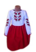 """Вишите плаття для дівчинки """"Маріса"""" (Вышитое платье для девочки """"Мариса"""") DT-0001"""