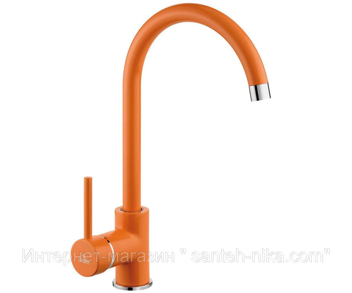 Смеситель для кухни Deante Milin BEU О62M (оранжевый)