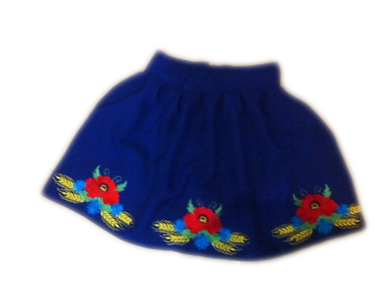"""Вишита спідничка для дівчинки """"Лоренс"""" (Вышитая юбка для девочки """"Лоренс"""") DT-0032"""