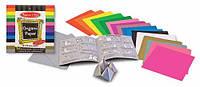 Цветная бумага для оригами, 15,3х15,3 см, Melissa&Doug, фото 1
