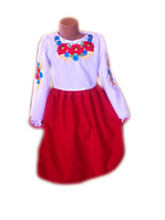 """Дитяча вишиванка для дівчинки """"Морвел"""" (Детская вышиванка для девочки """"Морвел"""") DT-0028"""