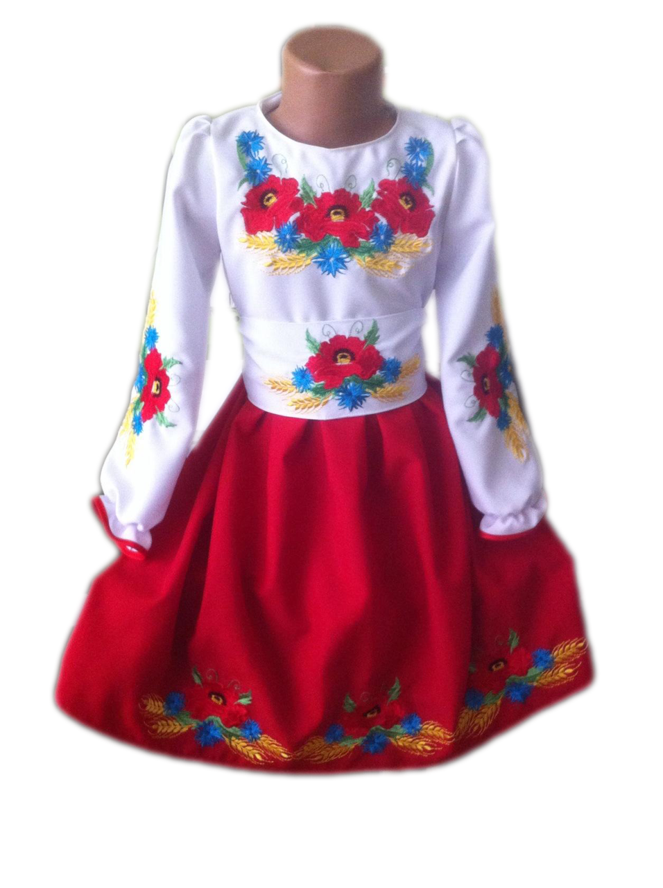 "Вишите плаття для дівчинки ""Моніса"" (Вышитое платье для девочки ""Мониса"") DT-0026"
