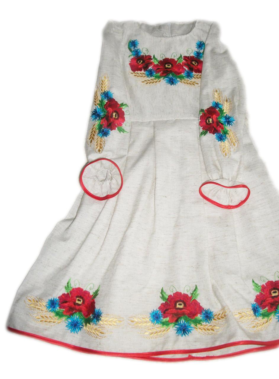 """Вишите плаття для дівчинки """"Магнолія"""" (Вышитое платье для девочки """"Магнолия"""") DT-0024"""