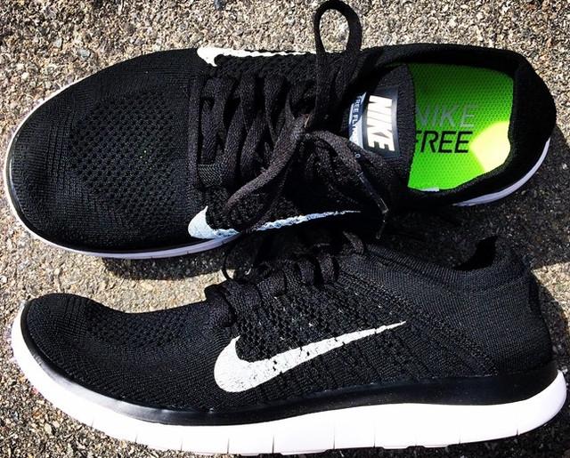 487ec5e2 ... кроссовки Nike Free Run Flyknit 4.0 black - 960. Хотя модель и  позиционируется как беговые кроссовки , она прекрасно подходит и для  повседневной носки, ...