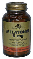 Solgar, Мелатонин, 5 мг, 120 таблеток