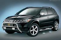 Накладки на зеркала (нерж.) Nissan Murano Z50 (2002-2008)