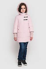 Куртка пальто на девочку плащевка на силиконе, Стейси Размеры 128- 158 Хит продаж!