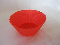 Силиконовая формочка мини, д-7 см, (12/10) (цена за 1 шт. +2 грн.) , фото 1