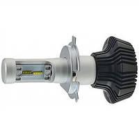 Светодиодная лампа CYCLON LED H4 Hi/Low 6000K 4000Lm type 2